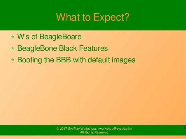 Introduction to BeagleBone Black Slide 2