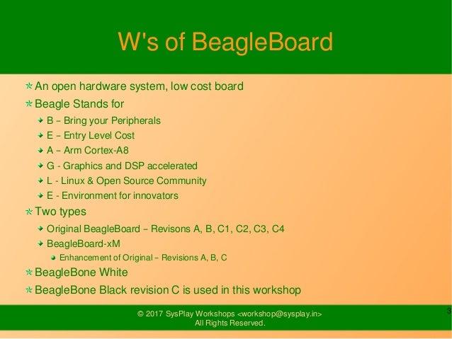 Introduction to BeagleBone Black Slide 3