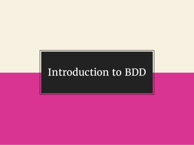 @gil_zilberfeld Introduction to BDD