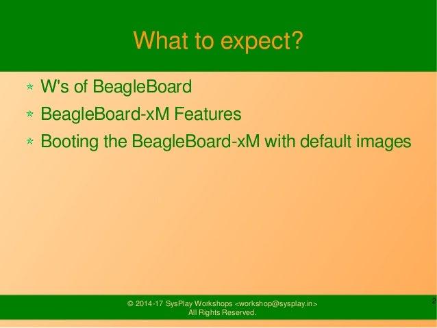 Introduction to BeagleBoard-xM Slide 2