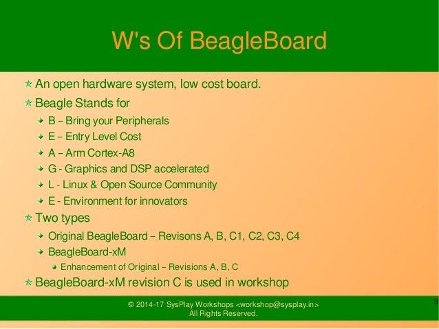 Introduction to BeagleBoard-xM Slide 3