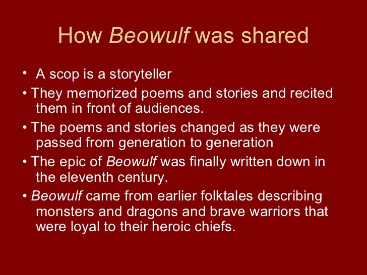 an introduction to the monsters throughout the history and in beowulf Textual history the original beowulf manuscript dates from 975 to 1000, and is included in a volume containing a total of five works in old english basing this view on historical, linguistic, and.