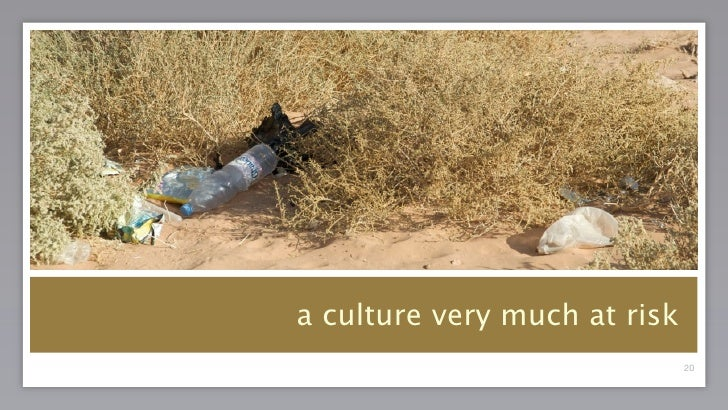 Introduction to the bedouin heritage project
