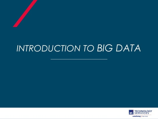 introduction to big data pdf