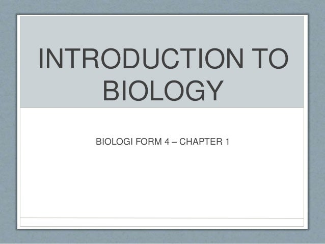 introduction to biology Course syllabi all biology course syllabi must be submitted by the first day of classes and will be posted to this website as soon as possible for syllabi from previous semesters (dating back to 2010), please email sundance@uncedu.