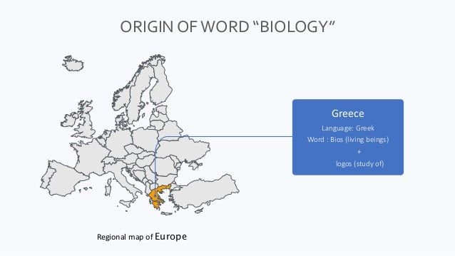 Introduction to biology Slide 3