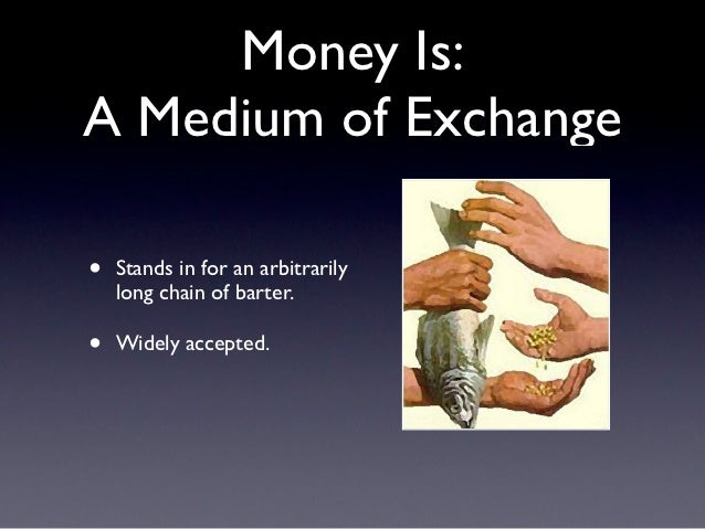 medium of exchange On money as a medium of exchange author(s): nobuhiro kiyotaki and randall  wright reviewed work(s): source: journal of political.