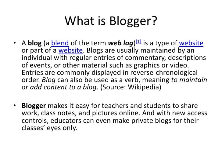 Image result for what is a blog