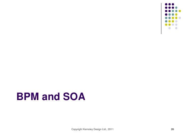 BPM and SOA        Copyright Kemsley Design Ltd., 2011   26