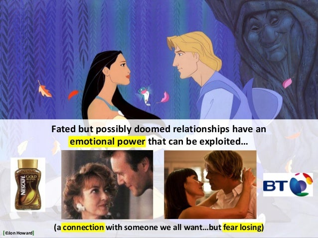 Fated but possibly doomed relationships have an emotional power that can be exploited… (a connection with someone we all w...