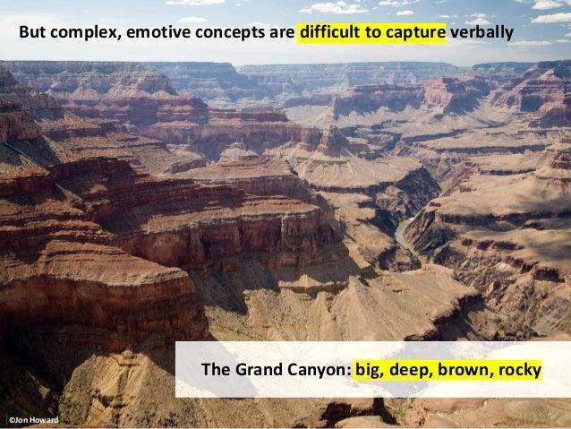 http://www.edupics.com/photo-grand-canyon-i8982.html The Grand Canyon: big, deep, brown, rocky But complex, emotive concep...