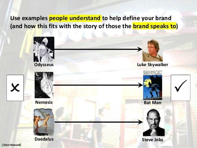 Odysseus Nemesis Daedalus Luke Skywalker Bat Man Steve Jobs Use examples people understand to help define your brand (and ...