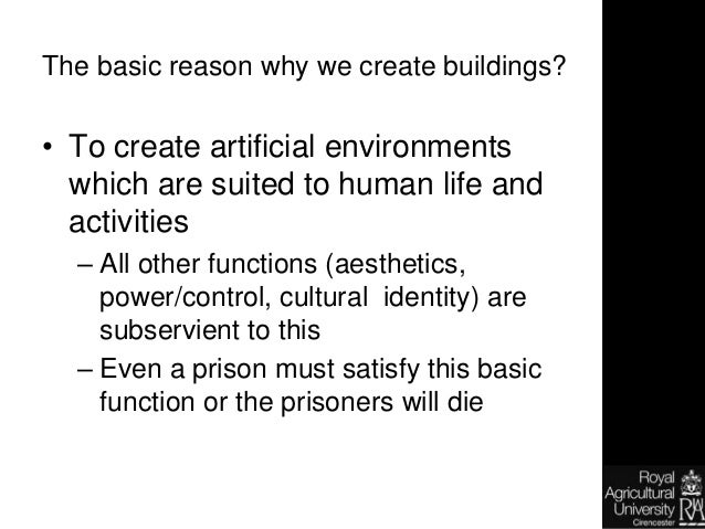 Introduction to building technology
