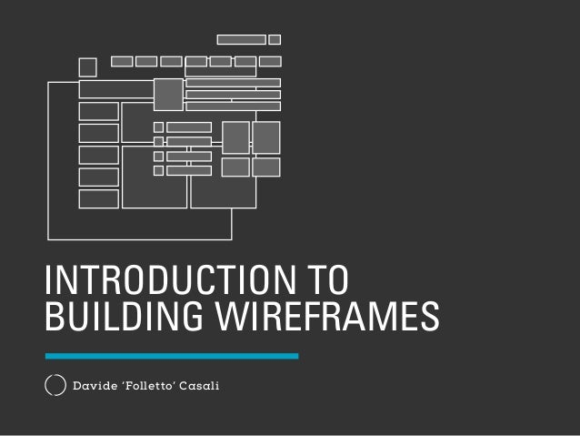 introduction to building wireframes with keynote