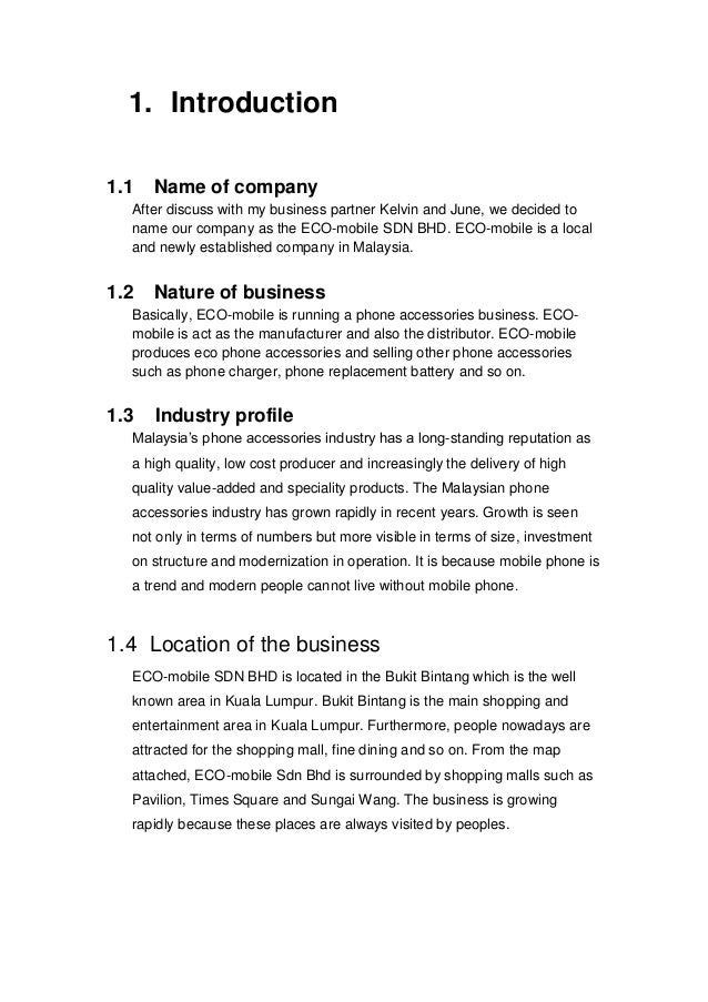business project proposal - Vatoz.atozdevelopment.co