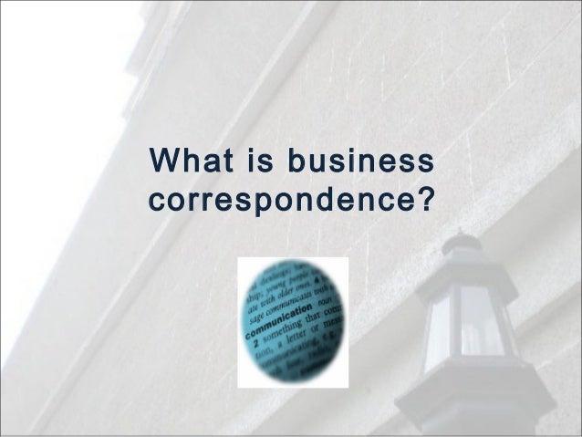 business correspondence in english pdf