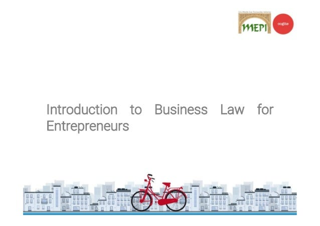 introduction to business law Introduction to business law in singapore: instructor's manualsuggested  answers chapter 1 1 law and business are intertwined.