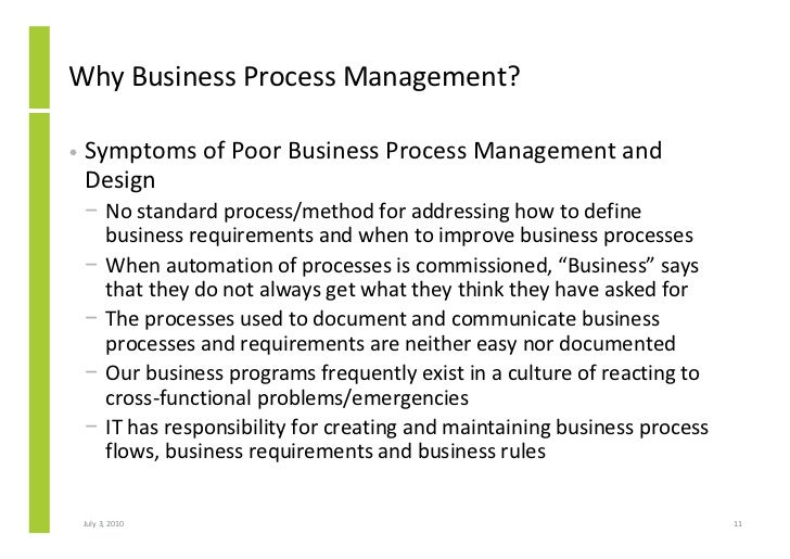 Advanced Business Process Management Essay Sample