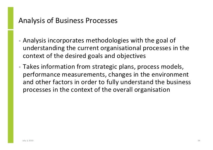 introduction to business process management analysis