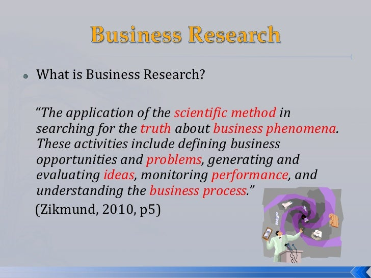 summary business research methods A business research method refers to a set of research techniques that companies employ to determine whether a specific business endeavor is worth their time and effort additionally.