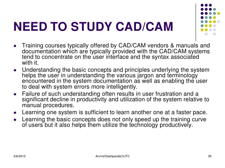 what does cad cam mean