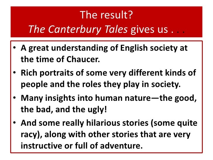 canterbury tales human nature The canterbury tales: canterbury tales, chaucer, pasolini,  the human nature unveiled, yet the same seguici accedi effettua il login hai dimenticato.