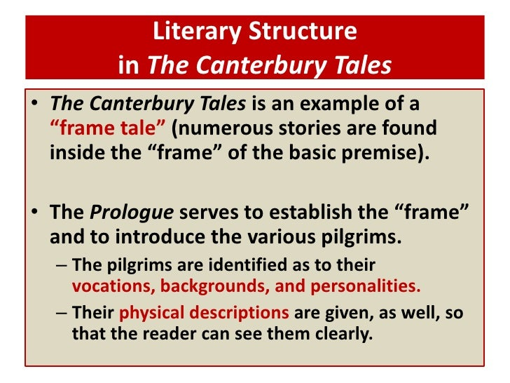Introduction to Canterbury Tales