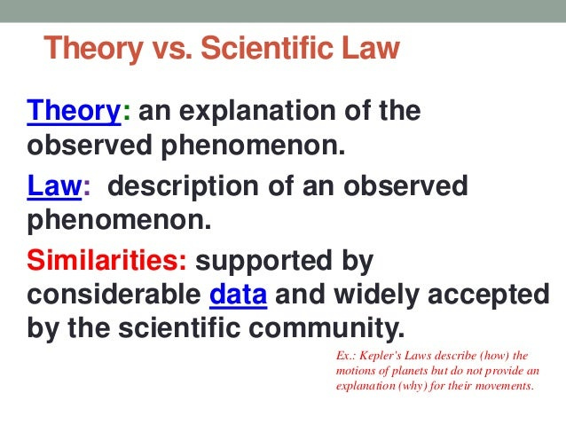 """differences and similarities of scientific laws and theories (""""individual differences and personality theories  individual-differences-and  just in similarities and dissimilarities theories of."""