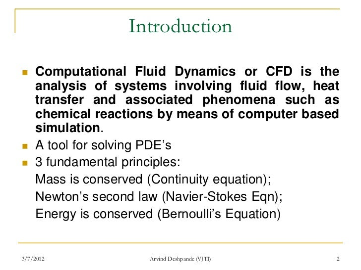 research papers computational fluid dynamics Research papers assessment criteria for computational fluid dynamics model validation experiments  for assessing model validation experiments for computational .