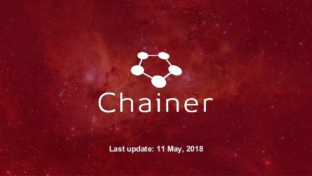 Last update: 11 May, 2018