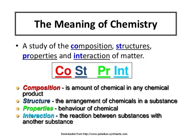 Dictionary entry overview: What does chemical change mean? • CHEMICAL CHANGE (noun) The noun CHEMICAL CHANGE has 1 sense: 1. (chemistry) any process determined by the atomic and molecular composition and structure of the substances involved Familiarity information: CHEMICAL CHANGE used as a noun is very rare.