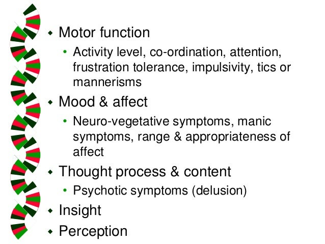 Introduction To Child Psychiatry- Assessment Issues