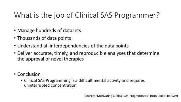 sas programmer resume clinical trials sas as a programmer