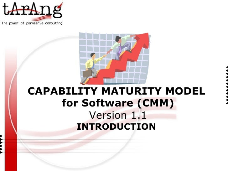 CAPABILITY MATURITY MODEL for Software (CMM) Version 1.1 INTRODUCTION
