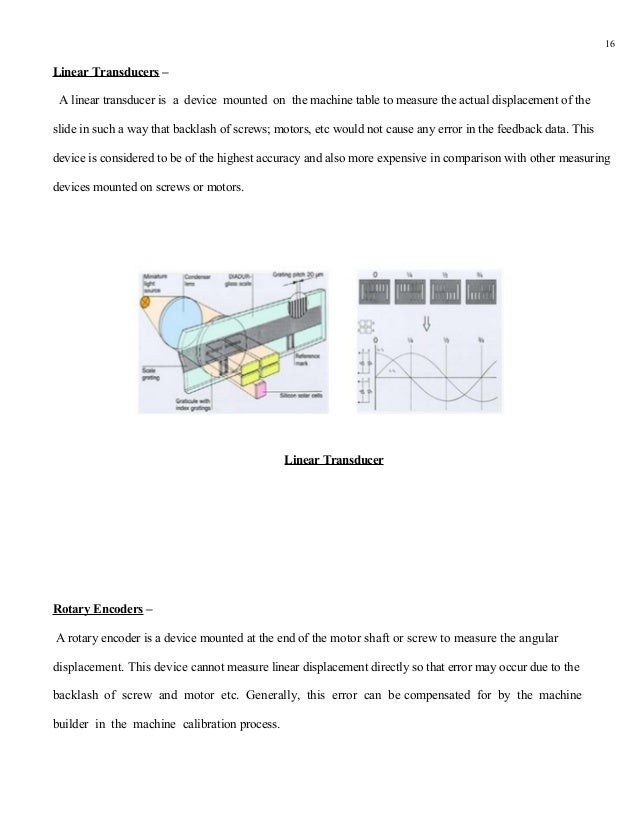 16Linear Transducers – A linear transducer is a device mounted on the machine table to measure the actual displacement of ...