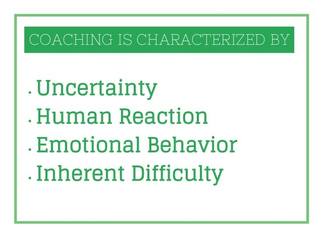 COMPONENTS OF SUCCESSFUL COACHING KNOWLEDGE POWER OF OBSERVATION POWER OF INTERPRETATION (Experience) ABILITY TO INSPIRE P...