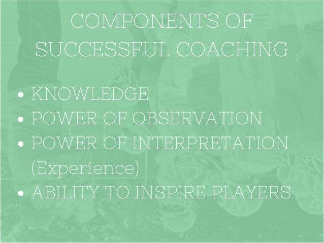 A Sports Coaching Introduction