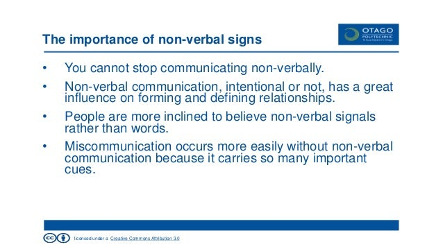 non verbal communication theory