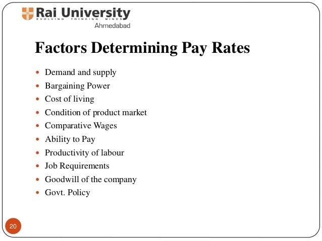 factors determining pay Factors determining the acceptance of payment methods by online shops in  poland michal polasik1, piotr fiszeder faculty of economic sciences and.