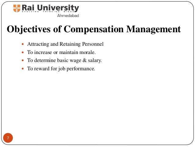 definition of compensation management by different authors pdf