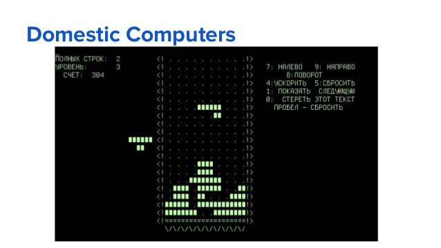Domestic Computers