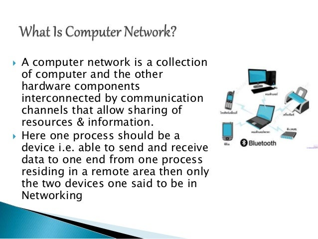 Introduction to computer networks & it's usage