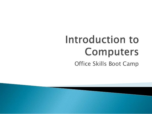 Office Skills Boot Camp