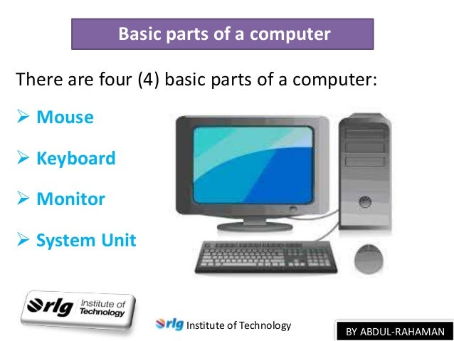 an introduction to computers An introduction to interactive programming in python (part 1) from rice university this two-part course is designed to help students with very little or no computing background learn the.
