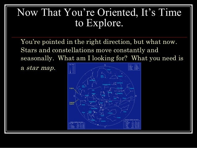 Introductionto Constellation - Star map now
