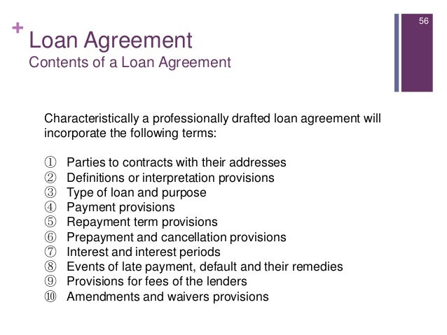 Introduction to consumer lending – Short Term Loan Agreement Template