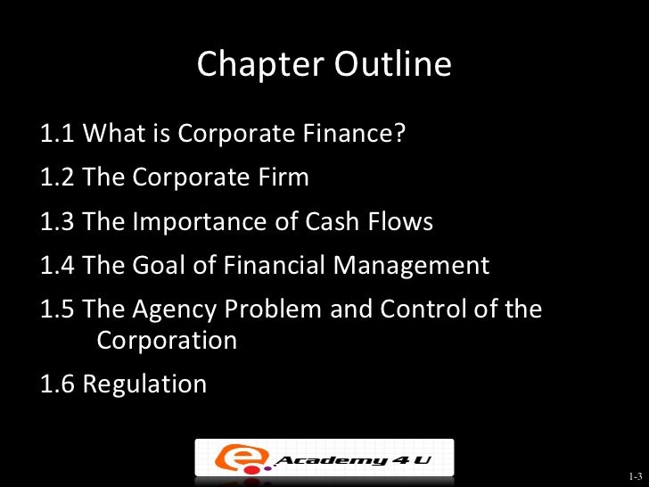 introduction to business finance Developed as corporate finance, business finance, financial economics, financial  mathematics  chapter - 1 introduction to financial management.