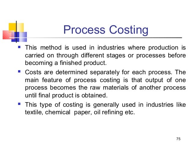 introduction to contract costing Cost accounting helps the management in the ascertainment of cost of process, product, job, contract, activity, etc, by using different techniques such as job costing and process costing.