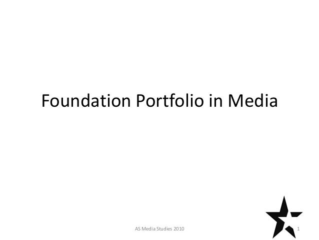 Foundation Portfolio in Media 1AS Media Studies 2010