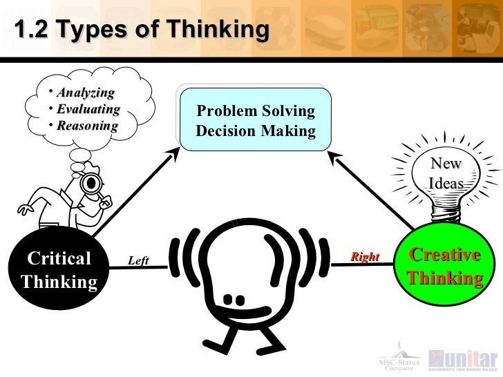 Critical thinking benefits decision making process